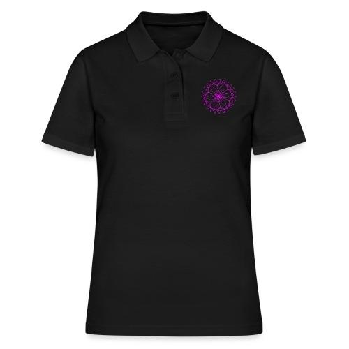 Pink Lotus Mandala - Women's Polo Shirt