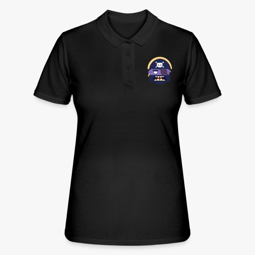 Mini Monsters - Captain Zed - Women's Polo Shirt