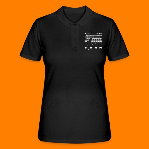 space invaders - Women's Polo Shirt