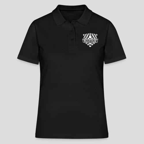 Triastase Logo White - Women's Polo Shirt