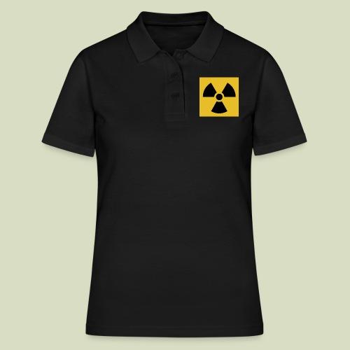 Radiation warning - Women's Polo Shirt