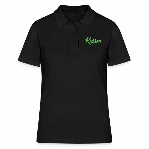 Kussen.website kussensloop groen - Vrouwen poloshirt