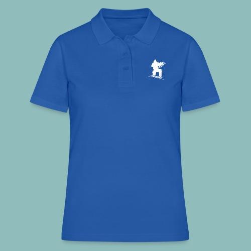 I'd rush you! White Version - Frauen Polo Shirt