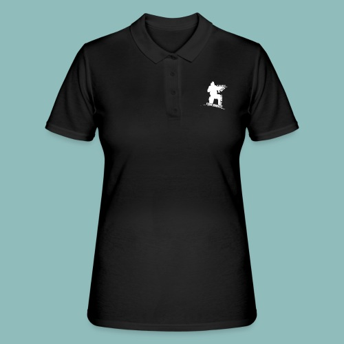 I'd rush you! White Version - Frauen Polo Shirt