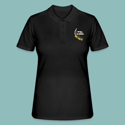 Peak my banana! - Frauen Polo Shirt
