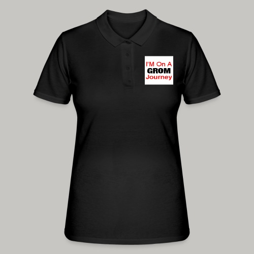 i am on a grom journey - Women's Polo Shirt