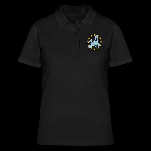 EU Belgium (EU Belgien) - Frauen Polo Shirt