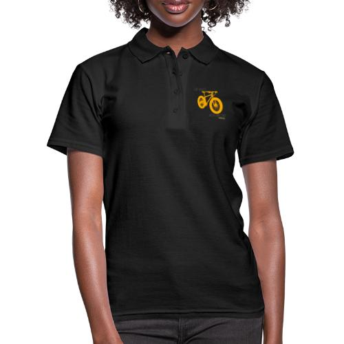 fat bike love - Women's Polo Shirt
