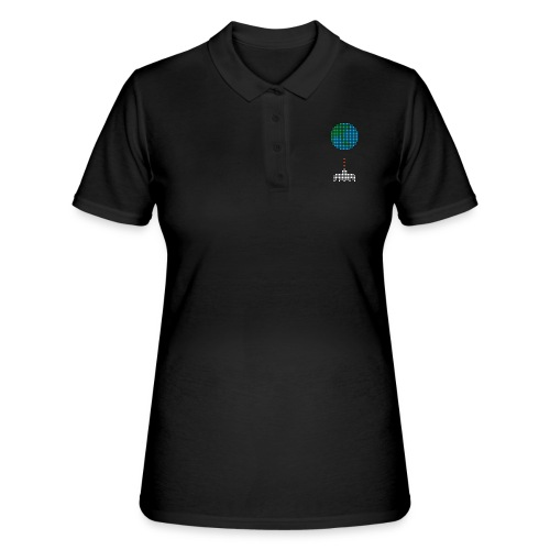 Earth Invaders - Frauen Polo Shirt