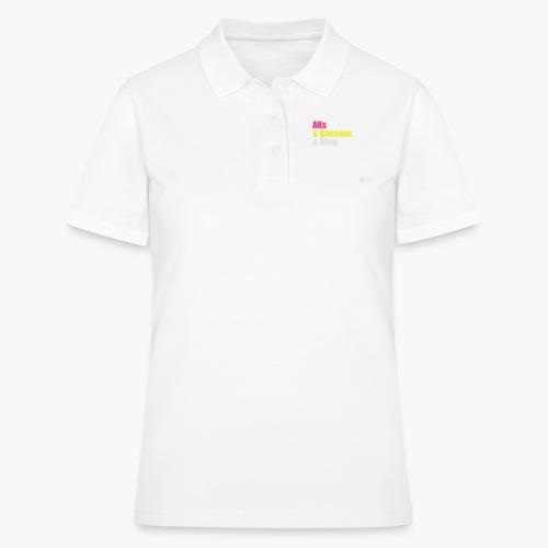 AKs & Bananas & Blow - Frauen Polo Shirt