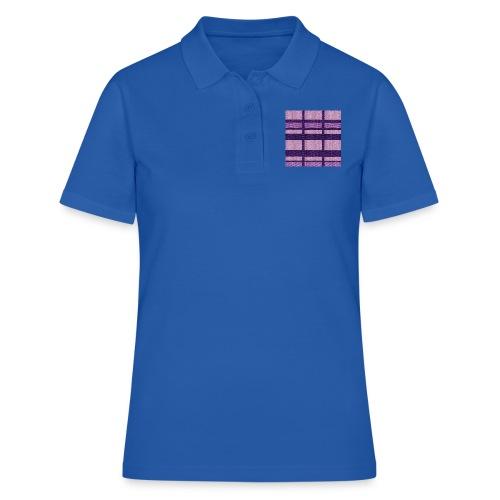 puplecolor tank top - Women's Polo Shirt