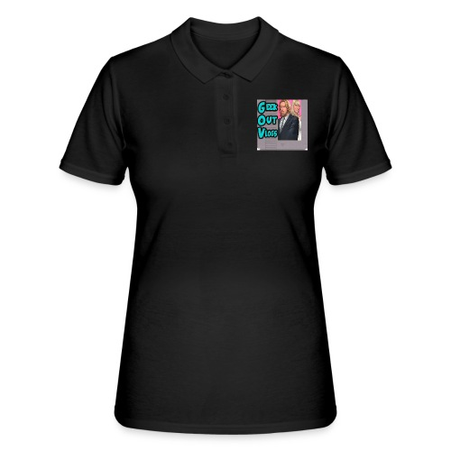 GeekOut Vlogs NES logo - Women's Polo Shirt
