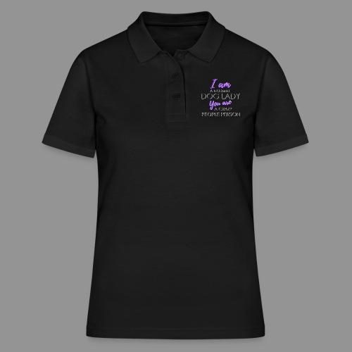 Normal Dog Lady - Women's Polo Shirt