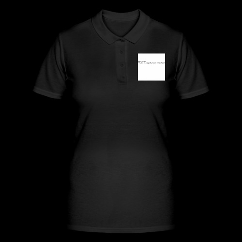 Where Are u? - Women's Polo Shirt