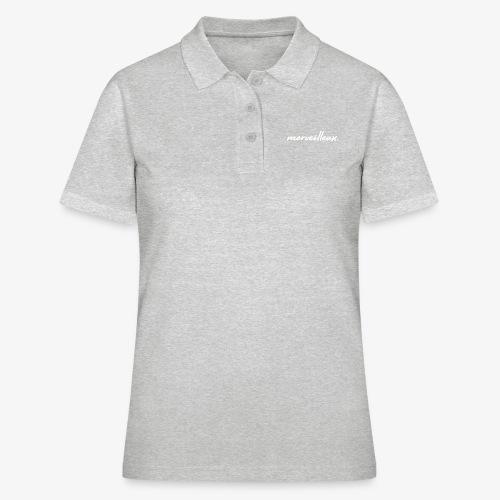 merveilleux. White - Women's Polo Shirt