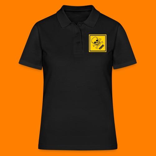 toxic - Women's Polo Shirt