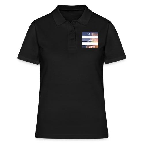 Take me to the mountain - Camiseta polo mujer