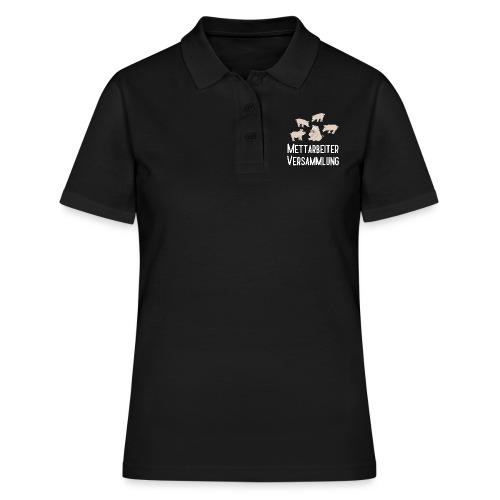Mettarbeiterversammlung - Frauen Polo Shirt