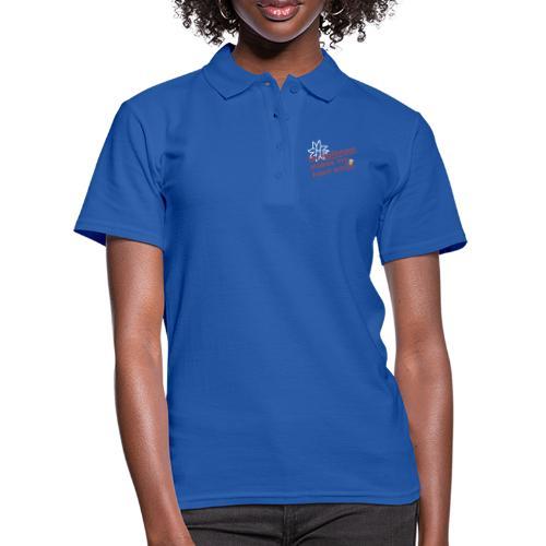 Haflinger Heart Smile - Rosa - Frauen Polo Shirt