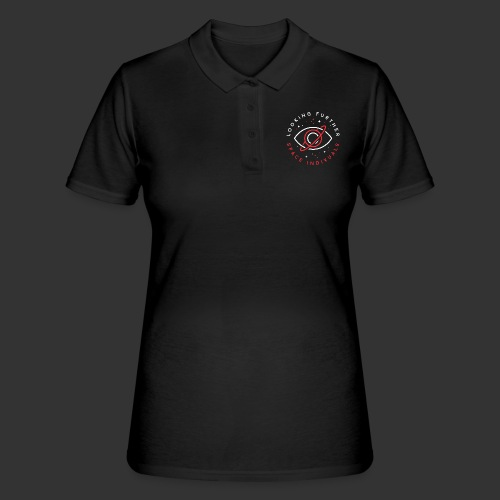 Space Individuals - Looking Farther Black - Women's Polo Shirt