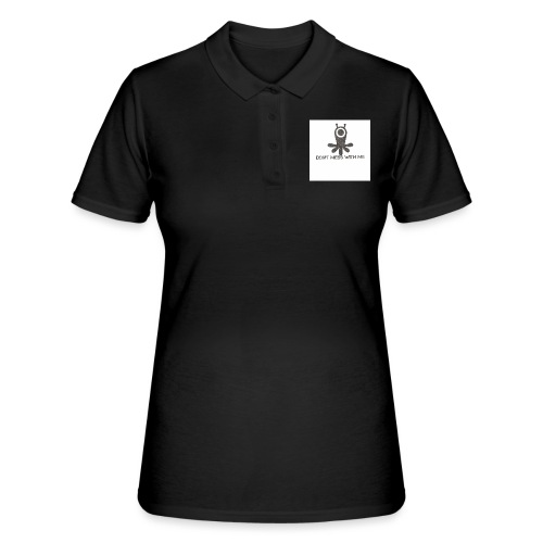 Dont mess whith me logo - Women's Polo Shirt
