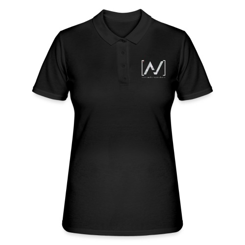 logoalpha blanc - Women's Polo Shirt