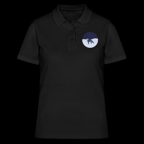Blue fox - Women's Polo Shirt