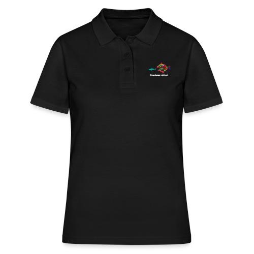 Gemeinsam stärker! Weiße Aufschrift - Frauen Polo Shirt