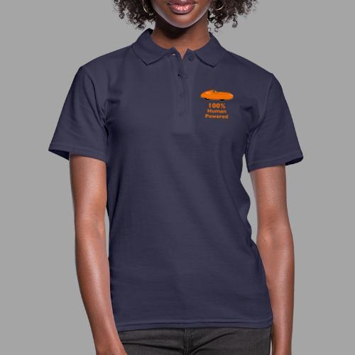 100% human powered - Women's Polo Shirt