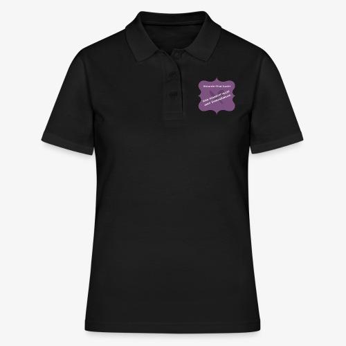 Histamin-Pirat kocht ohne Einschränkung (lila) - Frauen Polo Shirt
