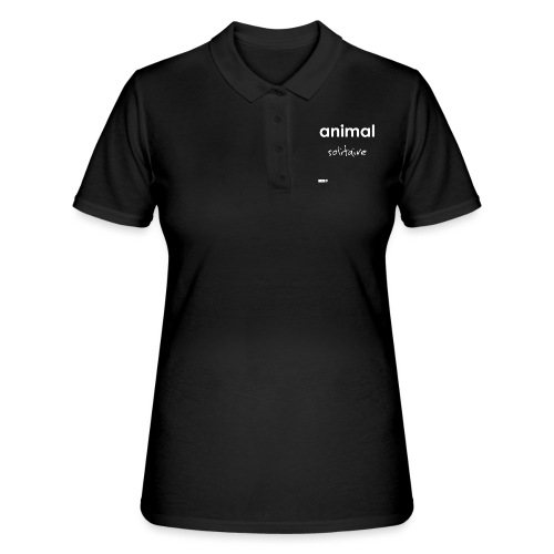 animal solitaire - Women's Polo Shirt