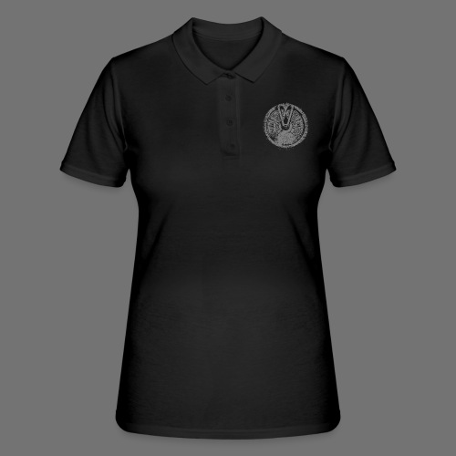 Maschinentelegraph (szary oldstyle) - Women's Polo Shirt