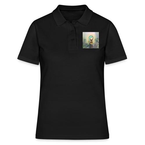 Little forest girl blue hair - Women's Polo Shirt