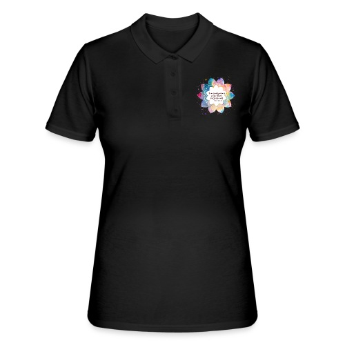 Citation de Nelson Mandela - Women's Polo Shirt