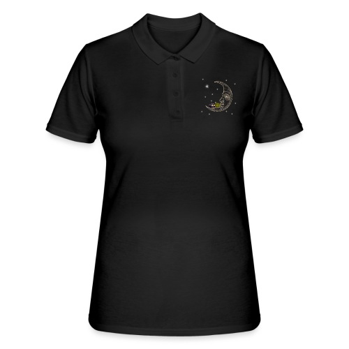 Camping RVing on The Moon - Women's Polo Shirt