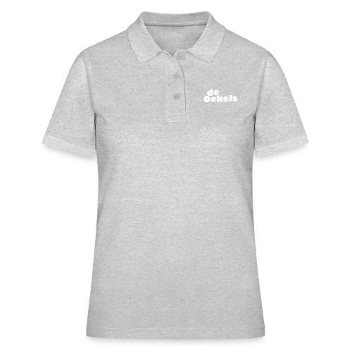 DeOekels t-shirt Logo wit - Vrouwen poloshirt