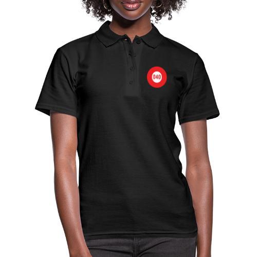 040 logo - Women's Polo Shirt