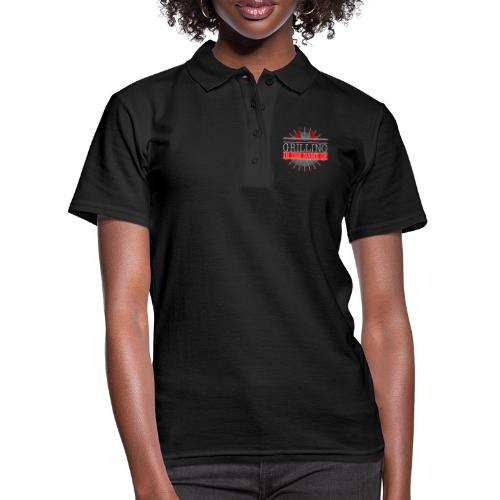 Grilling in the name of - Frauen Polo Shirt