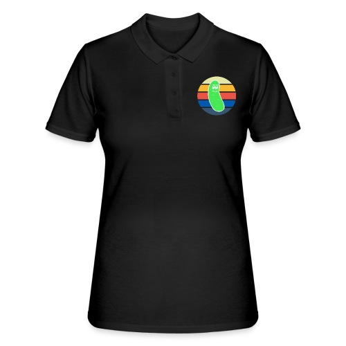 Vintage Colored Pickle #3 - Women's Polo Shirt