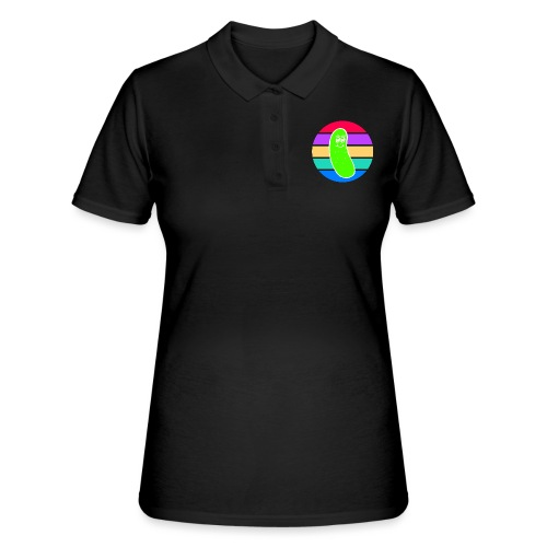 Vintage Colored Pickle #5 - Women's Polo Shirt