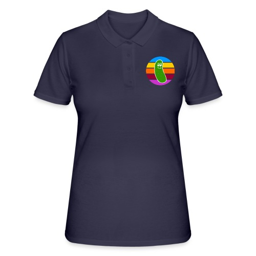 Vintage Colored Pickle #1 - Women's Polo Shirt