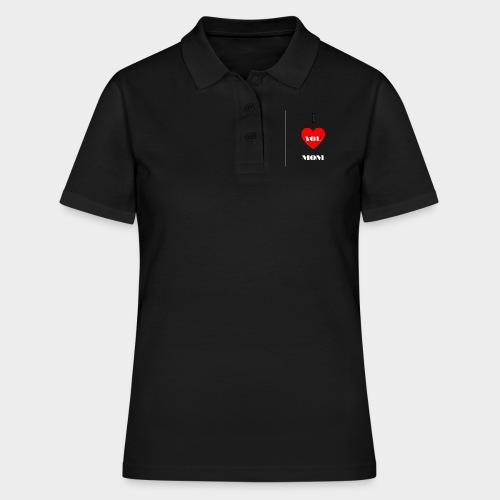 I love you mom (Te quiero mamá). - Women's Polo Shirt