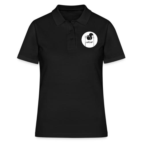WHITE LOGO - Frauen Polo Shirt