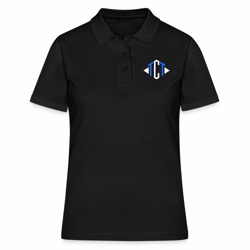Team Clutch Team logo Blue and White - Women's Polo Shirt