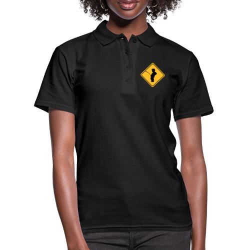 Manneken Pis sign - Women's Polo Shirt