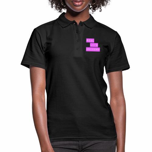 Real life unicorn - Women's Polo Shirt