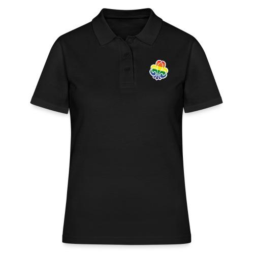 Regnbuespejder tilted - Poloshirt dame