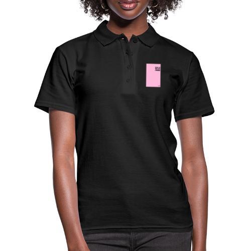I CHOSE by BLUEBLUE - Women's Polo Shirt