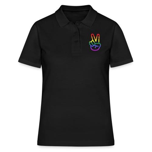 Peace Hand - Frauen Polo Shirt