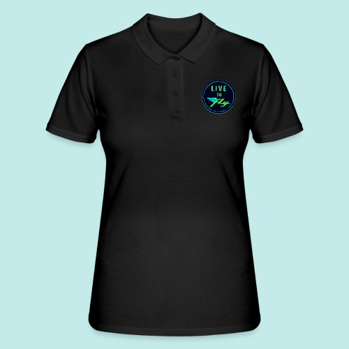 LIVE TO FLY - Women's Polo Shirt